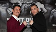 Anthony Crolla and John Murray (Lawrence Lustig)