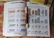 An Afghan schoolbook at a camp for displaced women in Kabul. A call by Afghan President Hamid Karzai for more foreign involvement in the country's higher education system risks exacerbating an already dangerous brain drain, analysts warn
