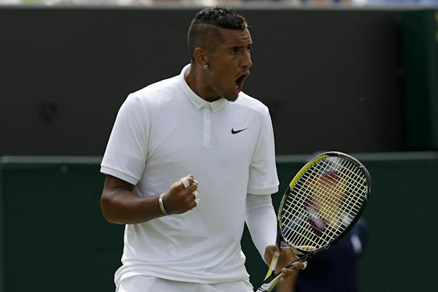 Australia's Nick Kyrgios has a reputation as one of the most volatile players on the men's tour
