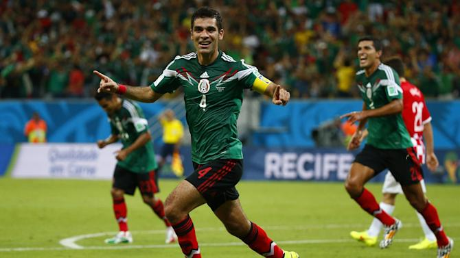 World Cup - Mexico down Croatia to book date with Dutch