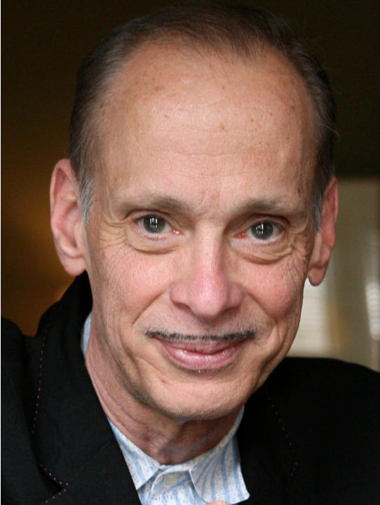 FILE - In this April 21, 2008 file photo, writer and director John Waters poses for a portrait at his home in New York. Waters will give the commencement address at Rhode Island School of Design on Sa