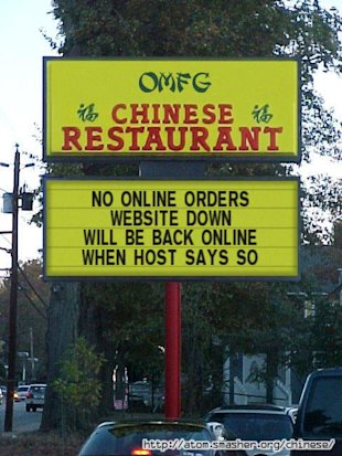 How Server Downtime Can Kill Your Search Engine Rankings Dead! image chinese restaurant
