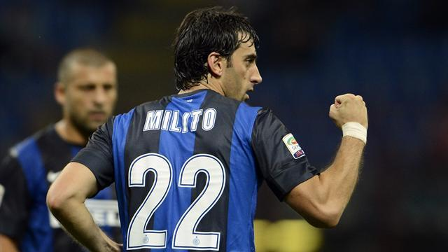 Serie A - Milito could return for Inter after injury