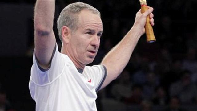 Tennis - McEnroe dominates Wilander in Legends final