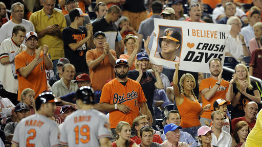 Orioles hit 3 homers, beat Blue Jays 9-3