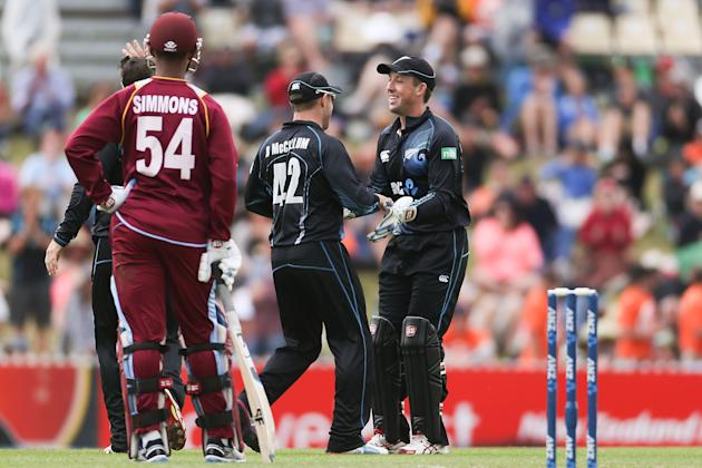New Zealand v West Indies - Game 4