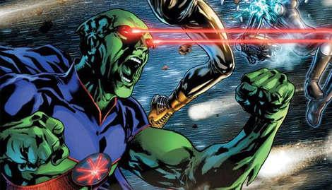 Martian Manhunter heads to the Justice League?