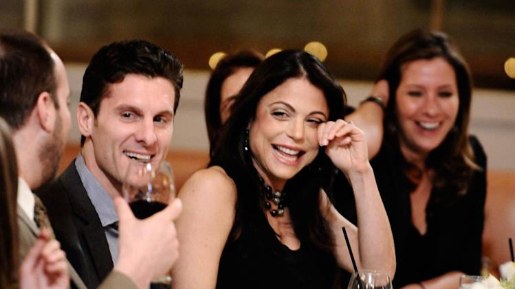 "Jason Hoppy and Bethenny Frankel in the ""Bethenny's Rehearsal Brunch"" episode on ""Bethenny's Getting Married?"""
