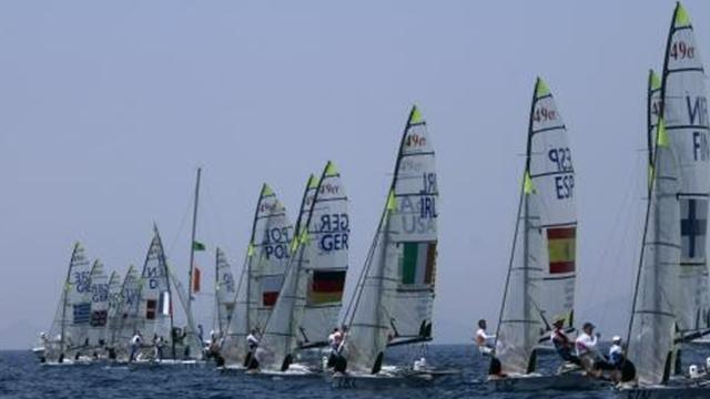 Sailing - Dobson and Rook take control at ISAF World Cup