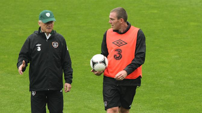 Richard Dunne is back in training