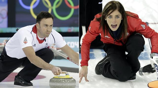 Curling - Gods look down differently on Murdoch and Muirhead