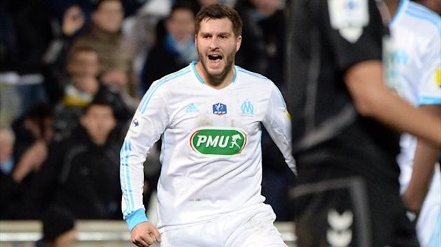 André-Pierre Gignac, OM-Reims, Coupe de France
