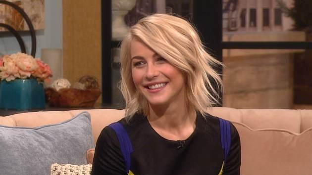 Julianne Hough visits Access Hollywood Live on February 14, 2013 -- Access Hollywood