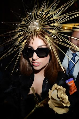 Lady Gaga visits Harrods London to celebrate the launch of Fame at Harrods in London on October 7, 2012 -- Getty Premium