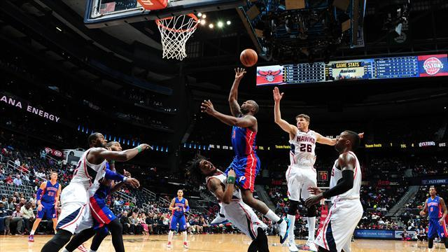 Basketball - Stuckey sticks it to Hawks in Pistons win