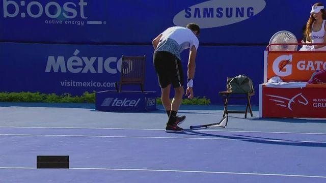 Defending champion Dimitrov out in Mexico