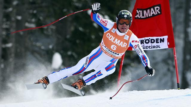Alpine Skiing - Clarey quickest on the Lauberhorn