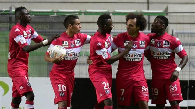 Ligue 1 - Saint Etienne stunned by Toulouse