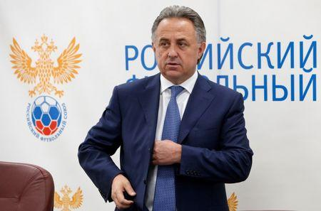 Russian Sports Minister Mutko attends an Executive Committee meeting of the Russian Football Union in Moscow