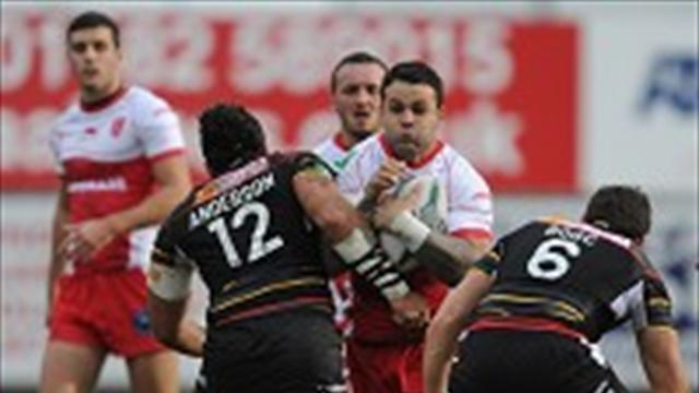 Rugby League - Frayssinous revels in debut win