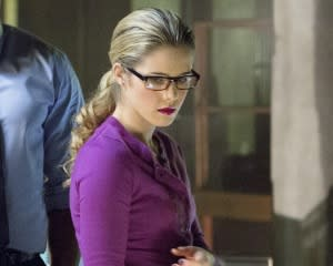 Arrow Gives Felicity Smoak a Promotion — Plus: Check Out Fresh Photos and a Sizzling Trailer