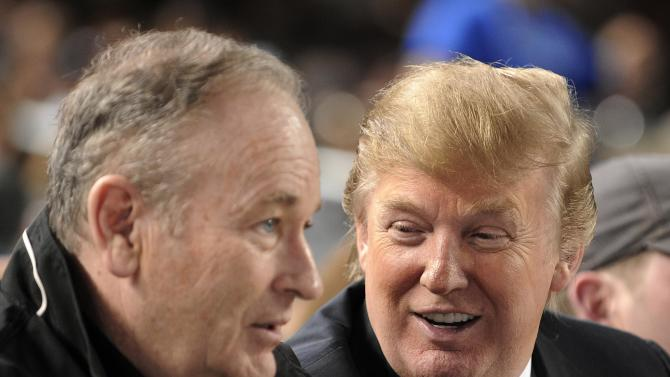 Trump Supports Bill O'Reilly Amid Sexual Harassment Claims