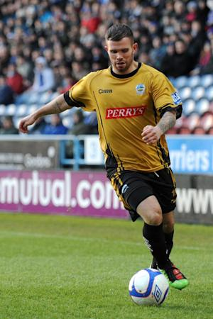 Adam Birchall injured his cruciate after joining Gillingham from Dover