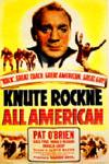 Poster of Knute Rockne - All American