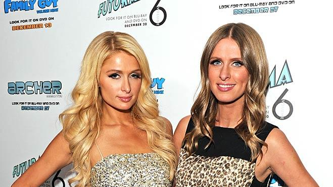 Paris Nicky Hilton Paris Electric Christmas Party