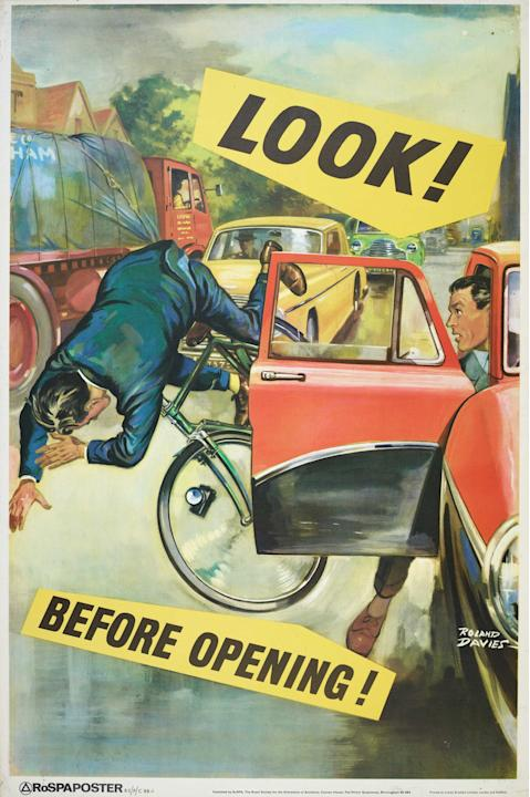 Cycling safety was a big issue then and now (SWNS)