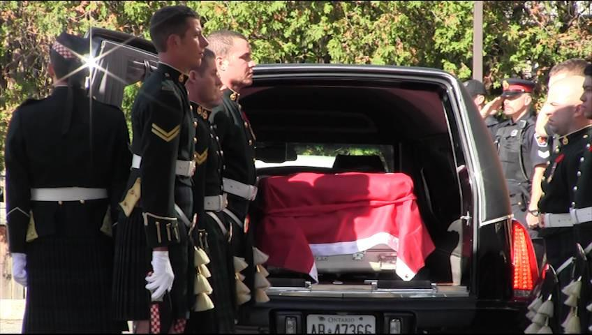 Thumbnail for Raw Video: Procession for Cpl. Nathan Cirillo leaves Ottawa