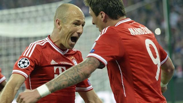 Champions League - Player ratings: Robben ruins Dortmund's dream