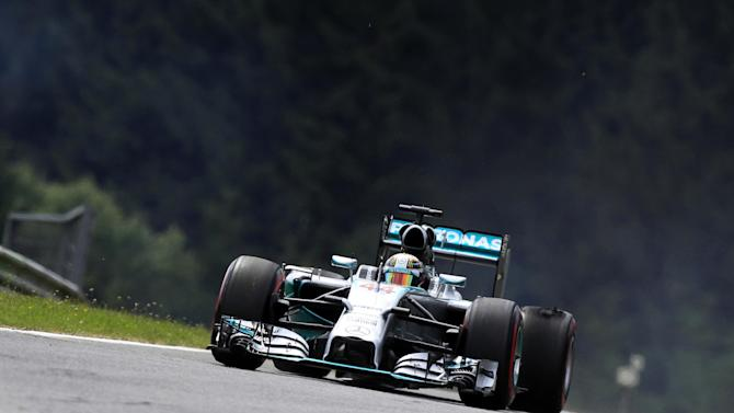 Formula 1 - Hamilton baffled by qualifying spin as Massa takes pole