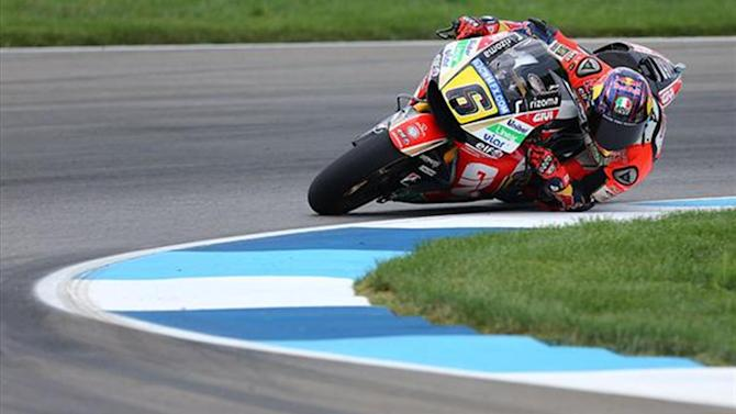 Motorcycling - MotoGP Indy: Bradl edges Rossi in third practice