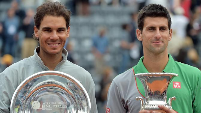 French Open - Federer sees Nadal, not Djokovic, as main threat in Paris