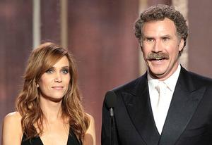 Kristen Wiig and Will Ferrell | Photo Credits: Paul Drinkwater/Getty Images