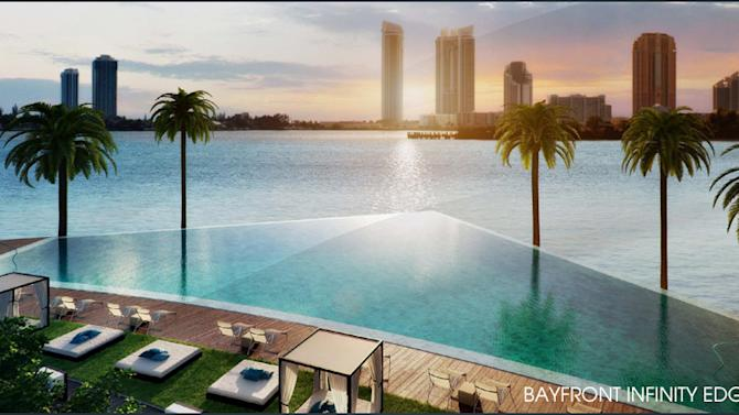 Miami condo market again defies gravity -- and reason infinity pool