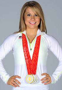 Shawn Johnson   Photo Credits: Harry How/Getty Images