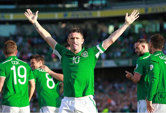 The Republic of Ireland's Robbie Keane has made the final 23-man squad for the Euro 2016