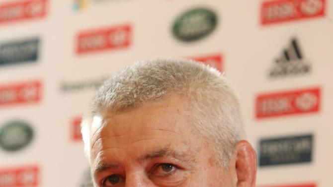Rugby Union - British and Irish Lions Media Opportunity - Syon Park