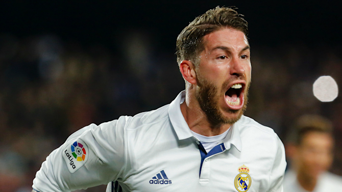 'He only gets paid for 90th minute headers!' - Twitter reacts to Ramos' late goal in Clasico
