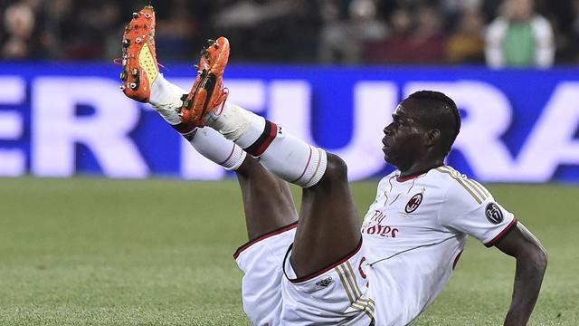 Serie A - Furious Balotelli clashes with pundits after loss