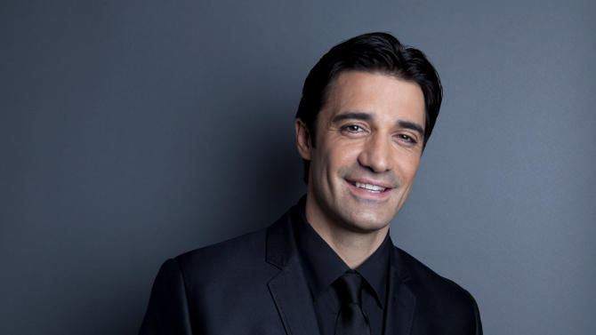 "This Dec. 4, 2012 photo shows French actor Gilles Marini in New York. Marini stars in the ABC Family series, ""Switched at Birth."" (Photo by Amy Sussman/Invision/AP)"