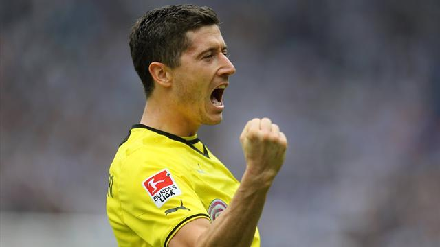 Bundesliga - Lewandowski departs Dortmund as league's top scorer