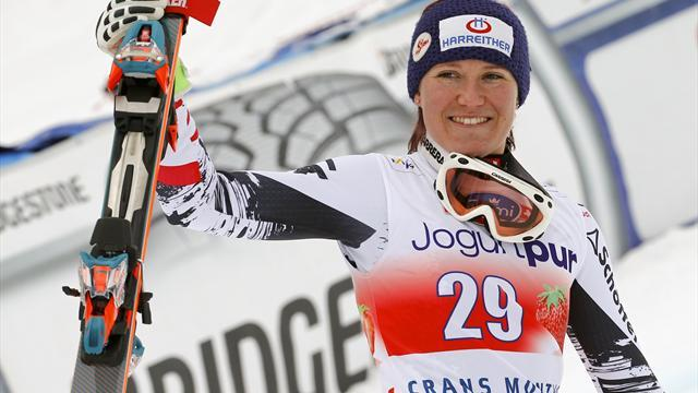 Alpine Skiing - Fischbacher makes her point with women's downhill World Cup win