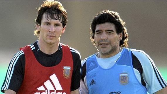 Javier Zanetti feels that Lionel Messi doesn't need a World Cup to be better than Diego Maradona