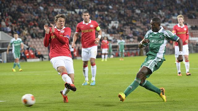 Europa League - Shock home defeat for PSV