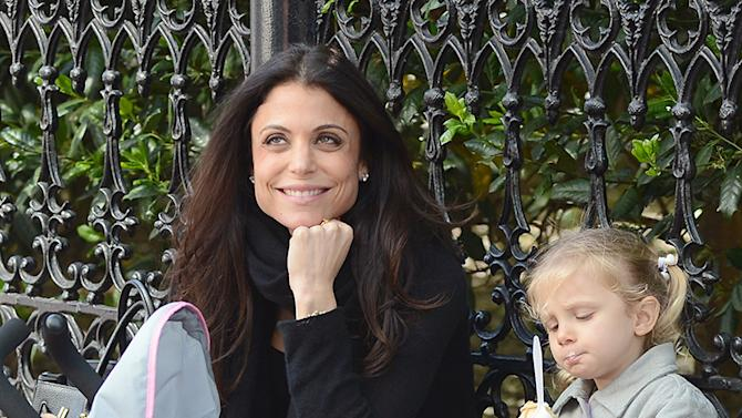 Bethenny Frankel Treats Her Daughter To Ice Cream