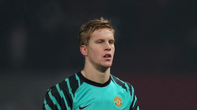 Goalkeeper Ben Amos has worked his way through the ranks at Manchester United
