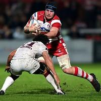 Ben Morgan scored three tries as Gloucester overcame London Welsh